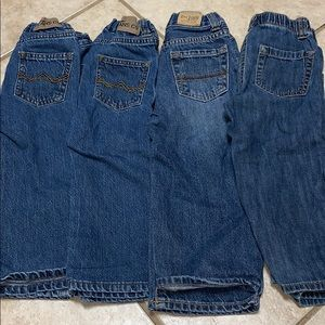 Wrangler/ old navy / children's place jeans